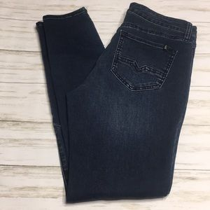 Size 30 Buffalo David Button Hope Skinny Jeans